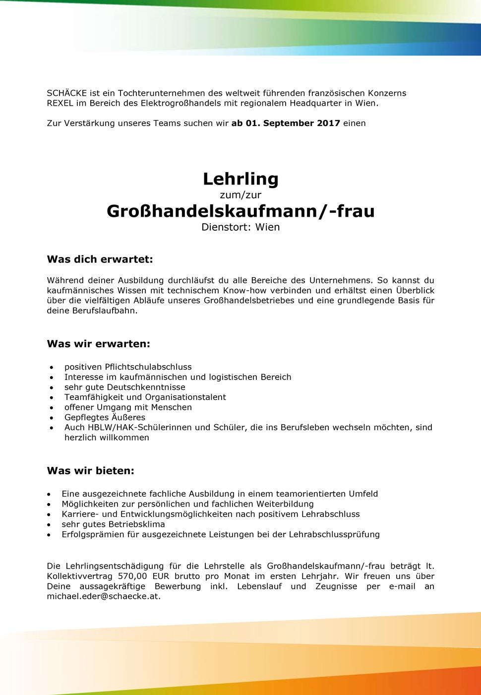 Jobangebot Wien